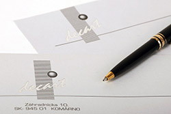 Office communication devices, business forms