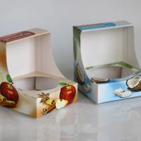 Folding box with interated bottom insert