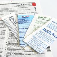 Colour patient information leaflets