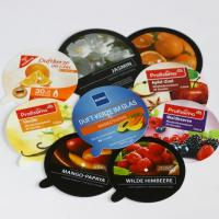Die cut, plastic (PP polypropylene) labels