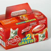 Multipack for tin cans made of craft solid board