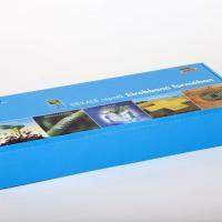 Laminált hullámkarton doboz termékminták postázásához