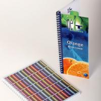 Notebooks with metal wire