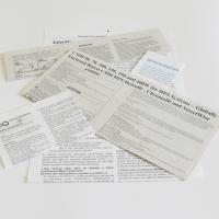 Patient information leaflets and information leaflets