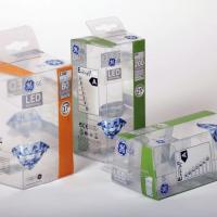 Víztiszta PET-GAG műanyag doboz nyomtatva, ragasztva